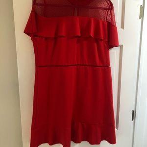 Dresses Hot Pink Satin Lace Up Mini Dress Poshmark